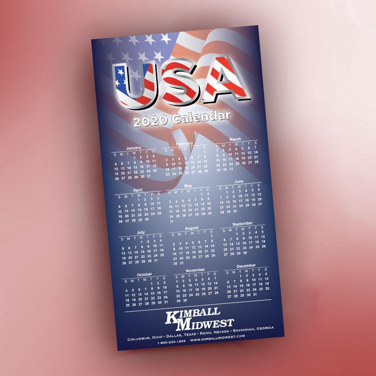 Dallas Calendar December 23, 2020 American Mag10 PK